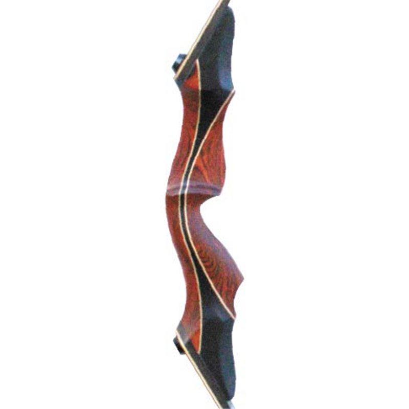 Serabo Custom Recurve Take Down Bogen mit Horneinsatz Set 60 Zoll RH