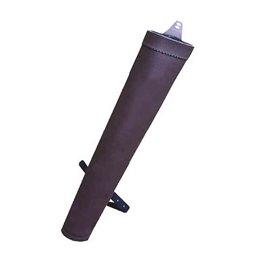 Rückenköcher Nylon oder Kunstleder rund 43cm