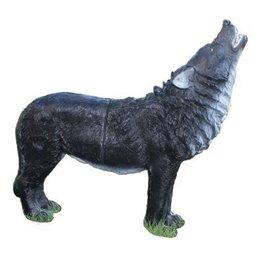 3D Tier Franzbogen Wolf heulend