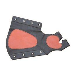 Kombiarmschutz mit Handschutz Leder 2 Farbig gepolstert AGL