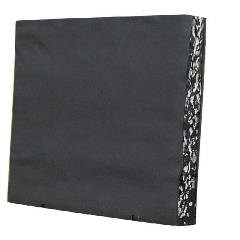 Zielscheibe Traditional Deluxe 80 x 80 mit schwarzer Oberfläche aus Recycelten Material Pfeilfang