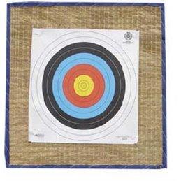 Zielscheibe Platte Stroh Vinyl 90 x 90 Pfeilfang Backstopp