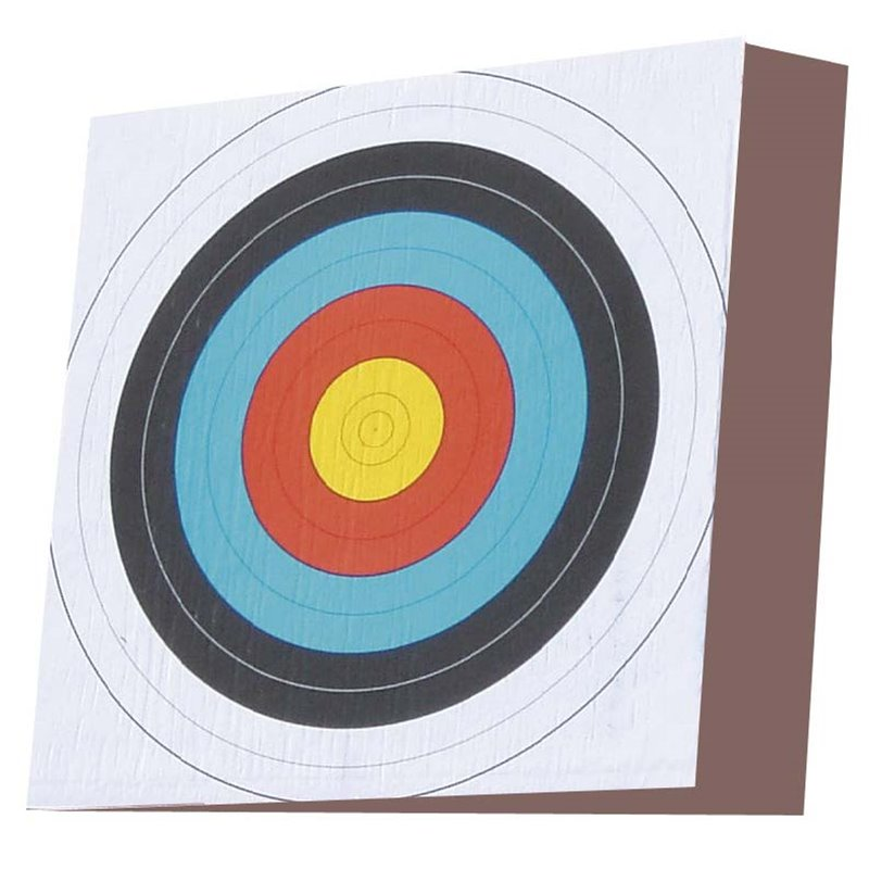 Zielscheibe Pfeilfang Block Kadi sehr stabile Freizeitscheibe für hohe Zuggewichte