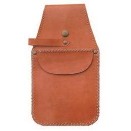 Taschenköcher handgefertigt mit Ziernaht 26cm