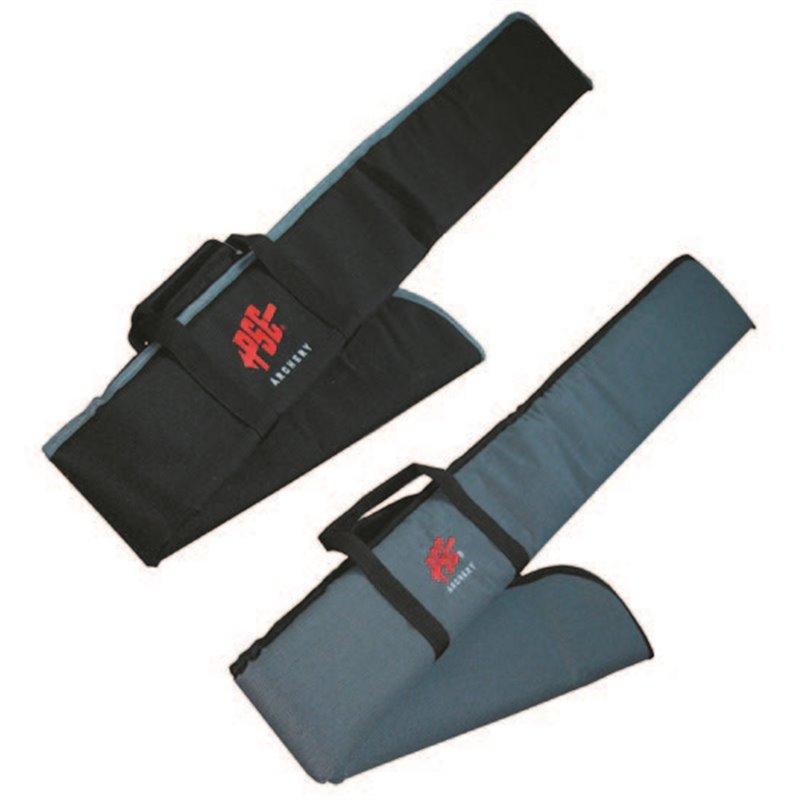 Bogentasche schwarz mit Tragegriff Stoff für Lang oder Recurve Bogen