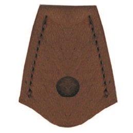 Schurzkappe für den Wurfarm Leder Handarbeit