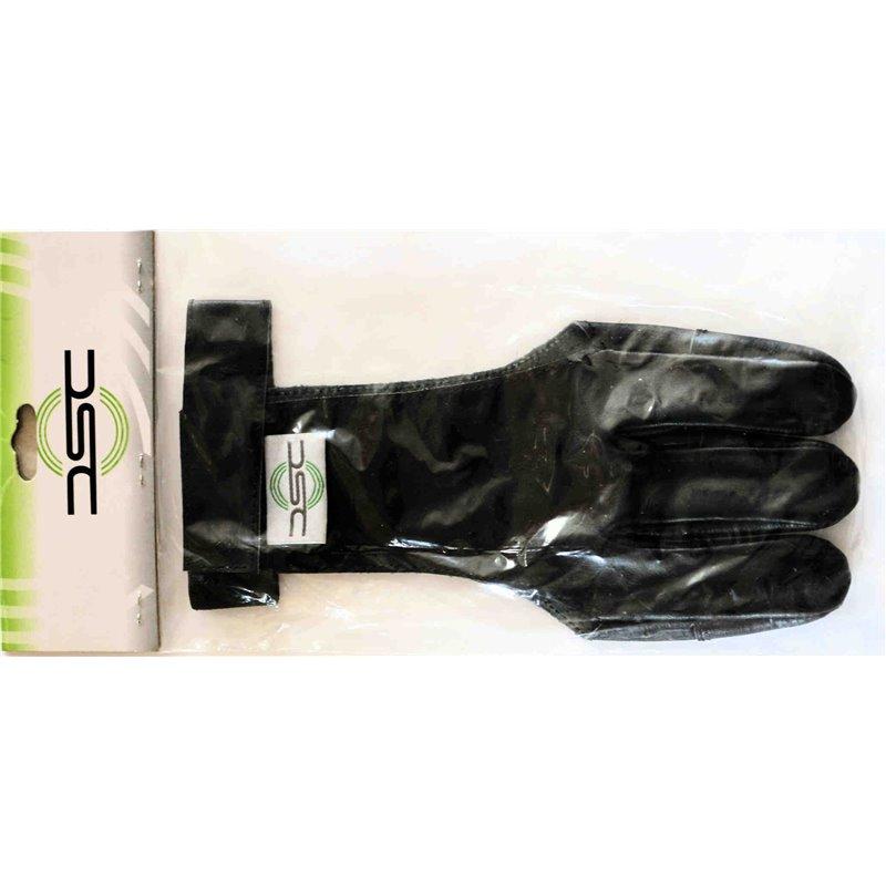 Schießhandschuh schwarz DSC Leder