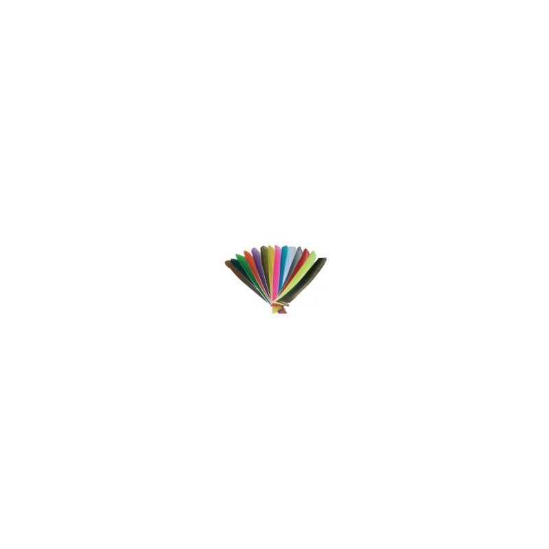 Naturfedern einfarbig volle Länge