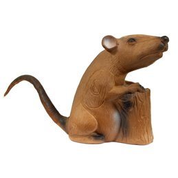 3D Tier LongLife Sitzende Ratte