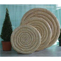 65 x 6 cm runde Traditionelle Strohzielscheibe Deluxe