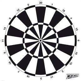 Dart - Zielscheibenauflage, ca. 60 cm