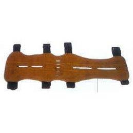 Langer Armschutz Wildleder füe Ober und Unter Arm dunkel oder hell braun