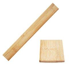 Bambusstreifen für den Bogenbau