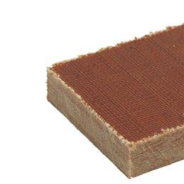 Micarta Braun 250 x 25 x 6 mm