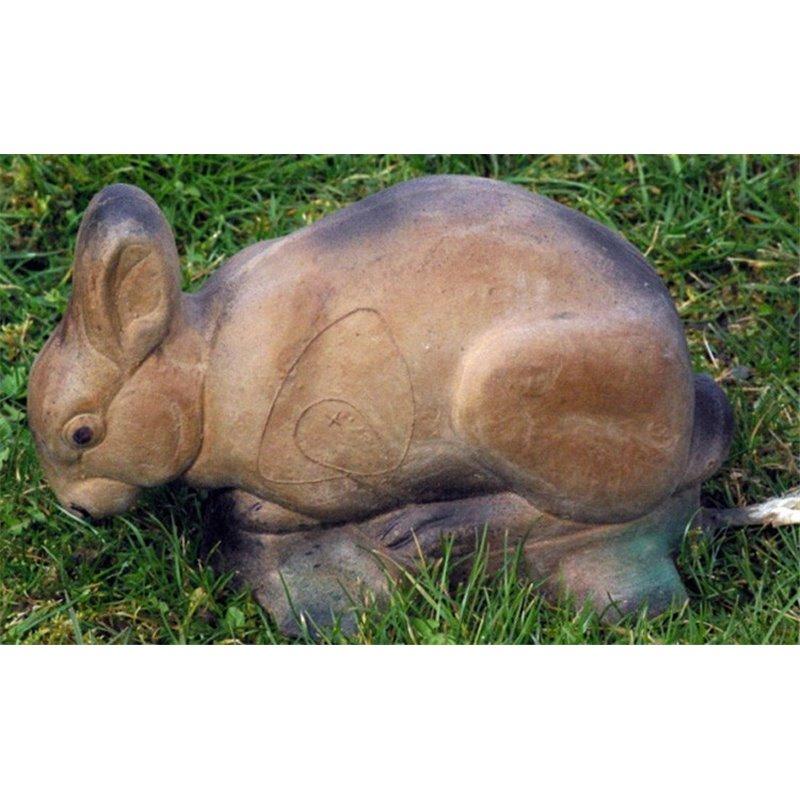 3D Tier Naturfoam fressendes Kaninchen