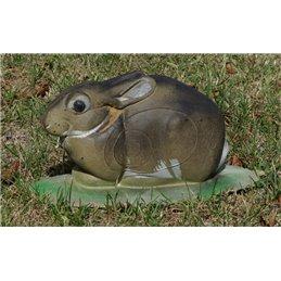 3D Tier Naturfoam ruhendes Kaninchen