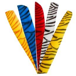 Feder RW Volle Länge zebra