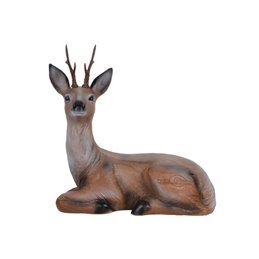 3D Tier LongLife Liegender Rehbock