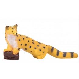 IBB 3D Tier laufende Ginsterkatze