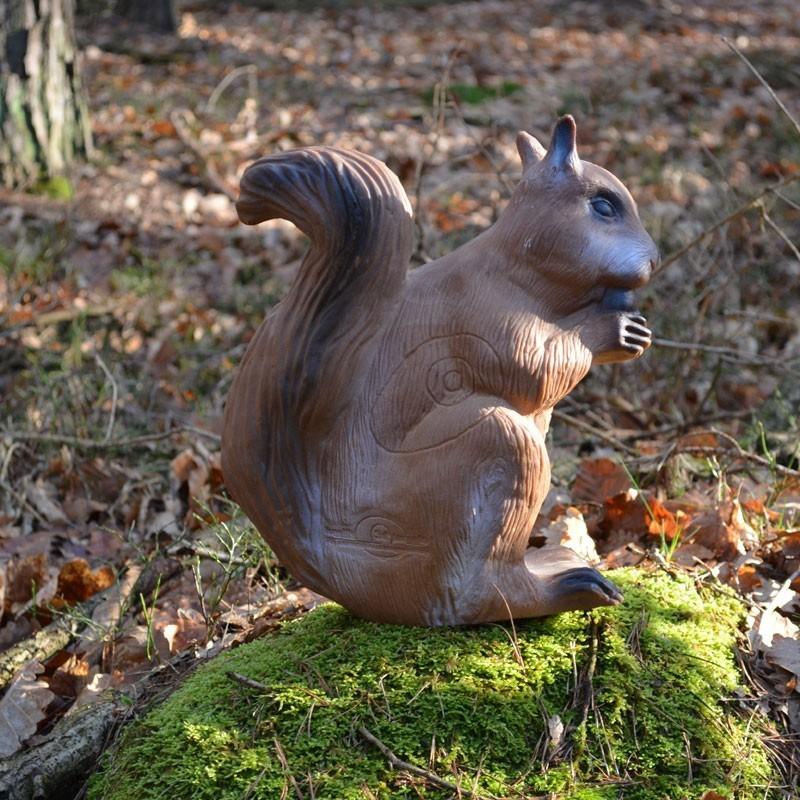 3D Tier LongLife Eichhörnchen, sitzend