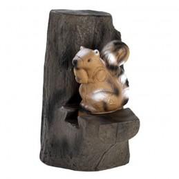 3D Tier Franzbogen Eichhörnchen & Backstop Premiumschaum