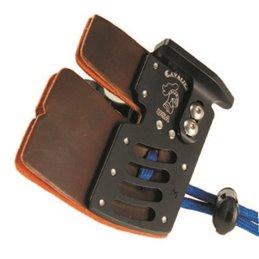 Tab ELITE Fingerschutz Fingertab Aluminium Handplatte und Ankerplatte