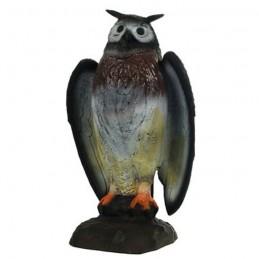 3D Tier Franzbogen drohender Uhu Premiumschaum