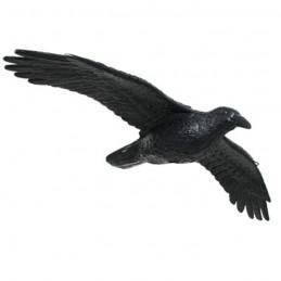 3D Tier Franzbogen Rabe fliegend Premiumschaum