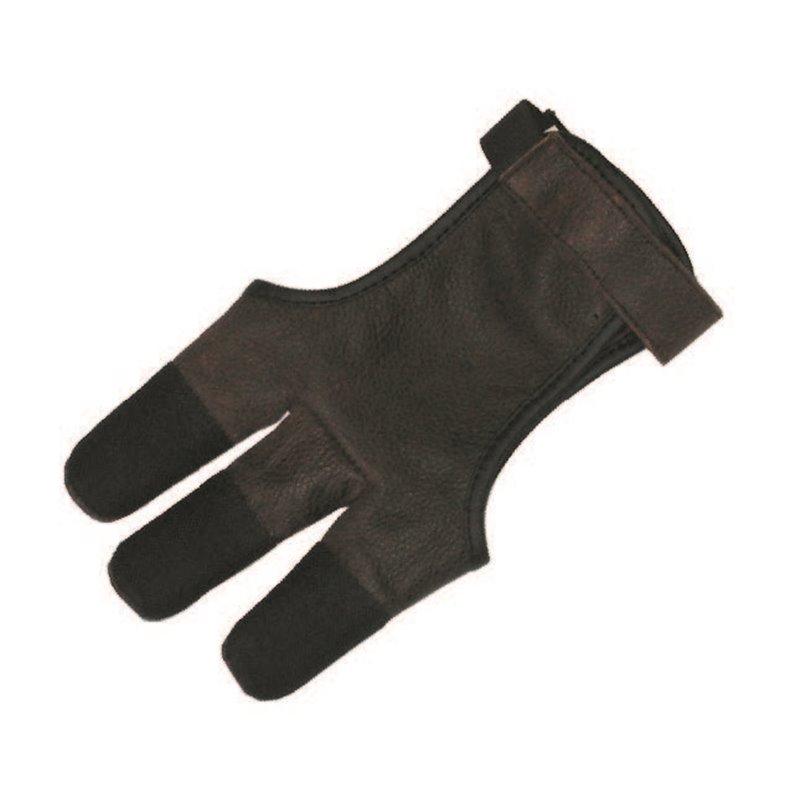 Schiess Handschuh für kräftige Finger Schiesshandschuh Leder