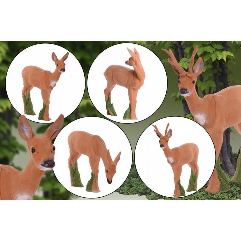 IBB 3D Tier Rehgruppe mit Bock