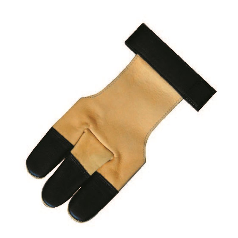 Bogen- Schiess Handschuh Leder