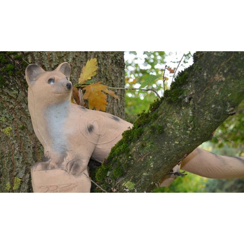 IBB 3D Tier laufende helle Ginsterkatze Premiumschaum