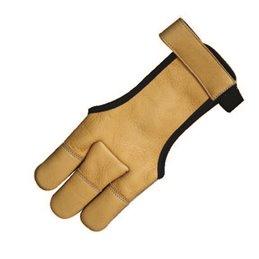 Bogen Schiess Handschuh Hirschleder delux für höhere Zuggewichte und Komfort