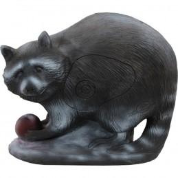 3D Tier LongLife Waschbär mit Apfel