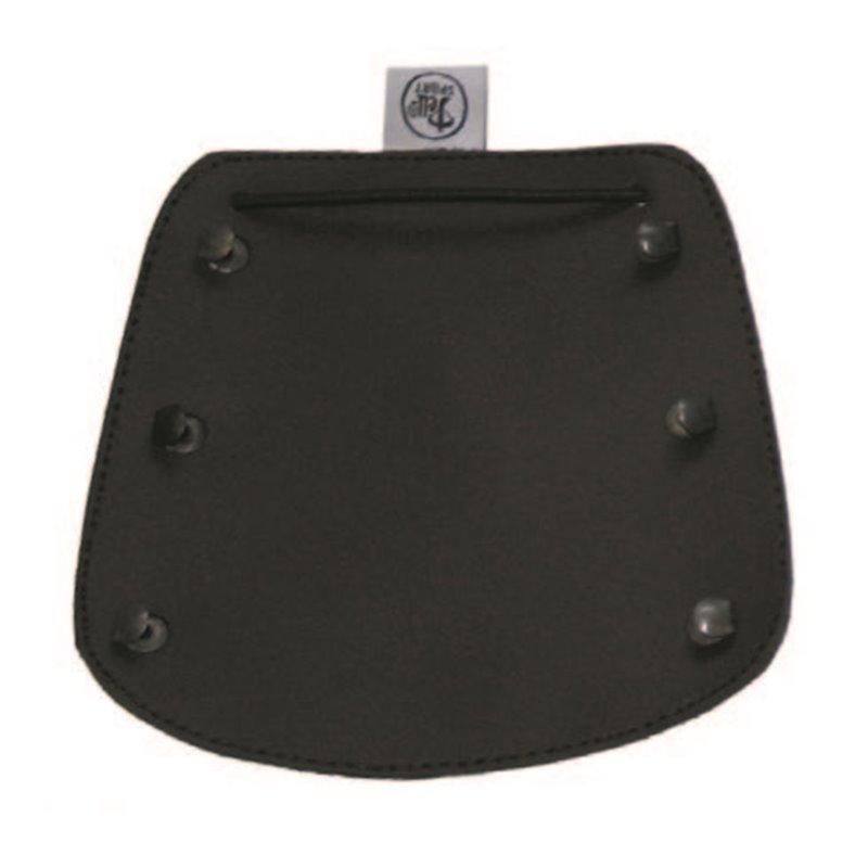 Schlichter klassicher Armschutz matt schwarz
