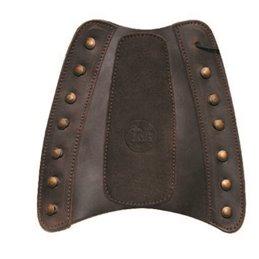 Traditioneller verstärkter Armschutz aus Rindsleder