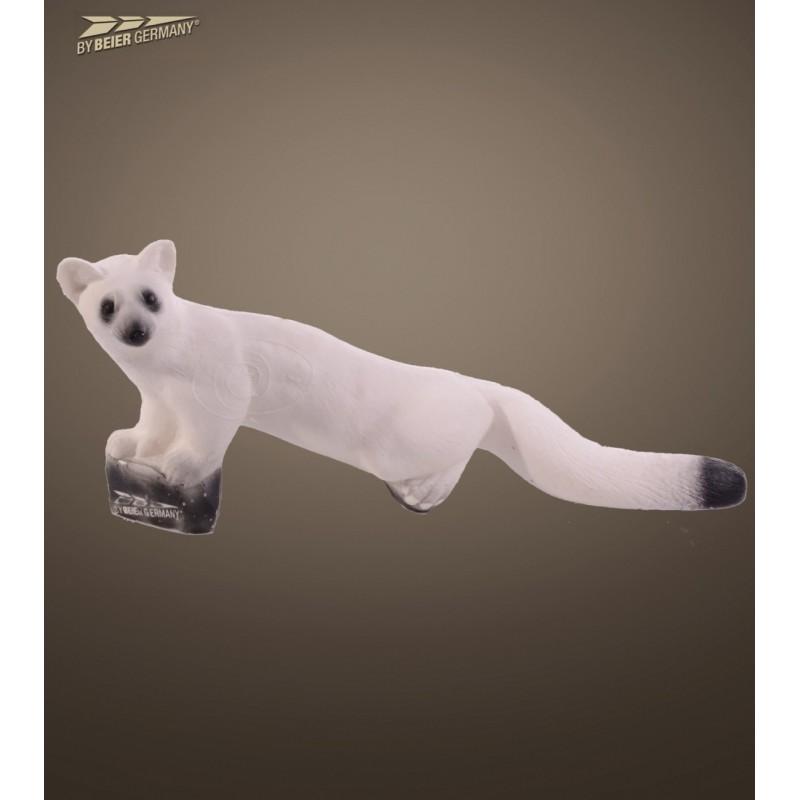 IBB 3D Tier Wiesel, laufend im Winterfell