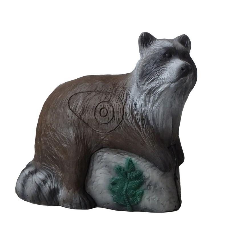 Leitold 3D Tier Großer Waschbär