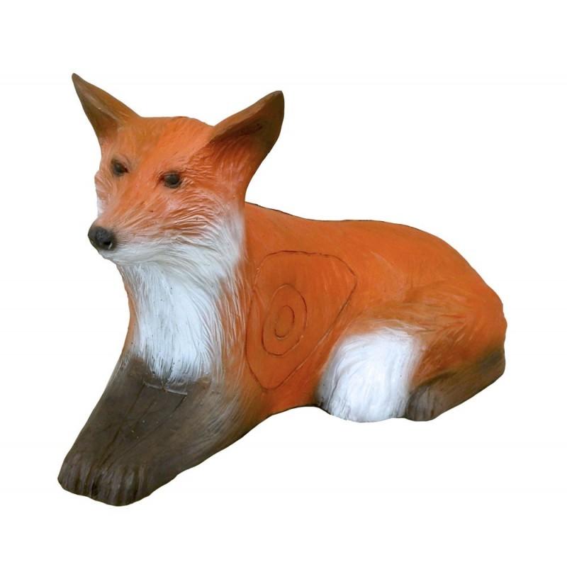 Leitold 3D Tier Rotfuchs liegend