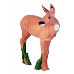 IBB 3D Tier Rehgeiß nach rechts schauend