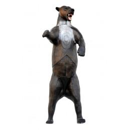 Leitold 3D Tier Grizzlybär aufrecht stehend