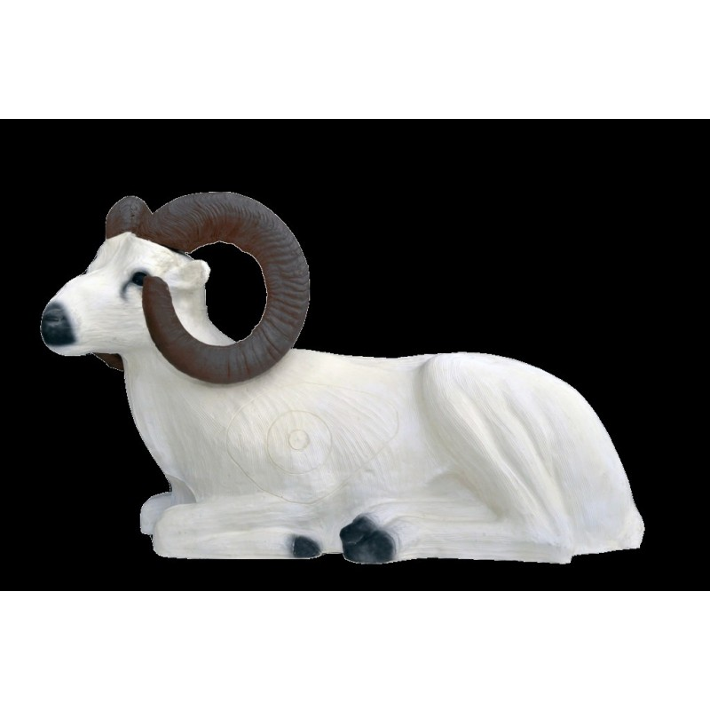 Leitold 3D Tier Dallschaf liegend