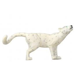 Leitold 3D Tier Schnee-Leopard