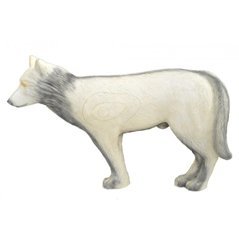 Leitold 3D Tier Weisser Wolf laufend