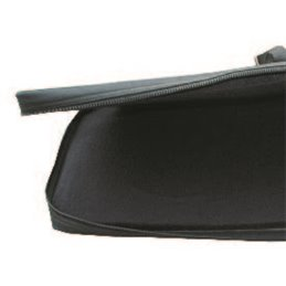 Langbogentasche RBP mit Halteschlaufen gepolstert schwarz