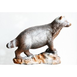 Leitold 3D Tier Marderhund laufend