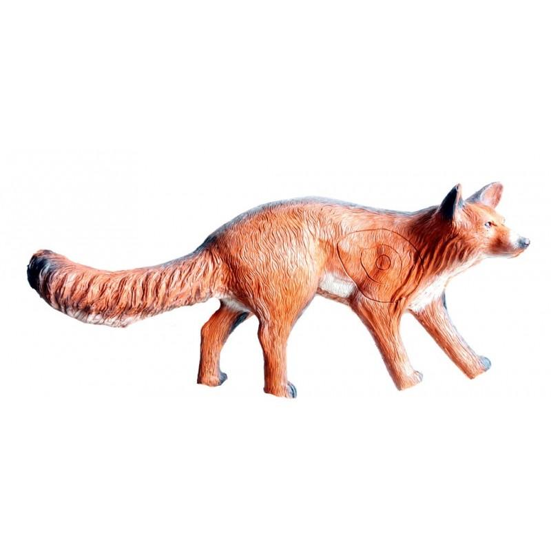 Leitold 3D Tier Rotfuchs laufend
