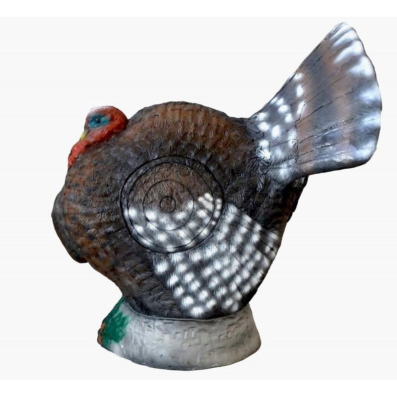 Leitold 3D Tier Truthahn balzend