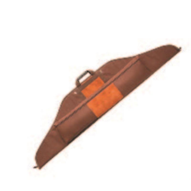 Bogentasche für Recurve Bogen mit extra Tasche braun nespa