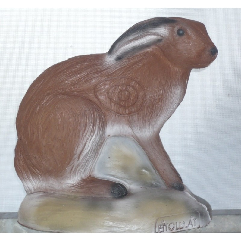 Leitold 3D Tier Feldhase sitzend
